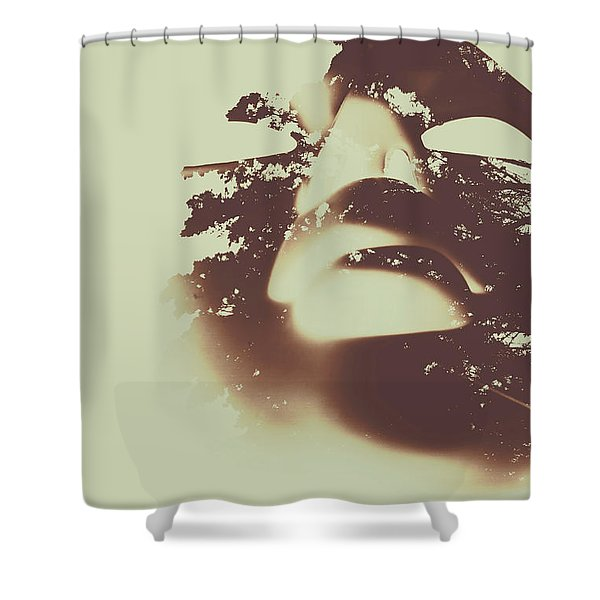 The Spirit Within Shower Curtain
