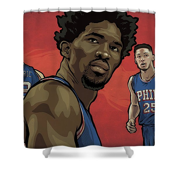 The Squad Shower Curtain