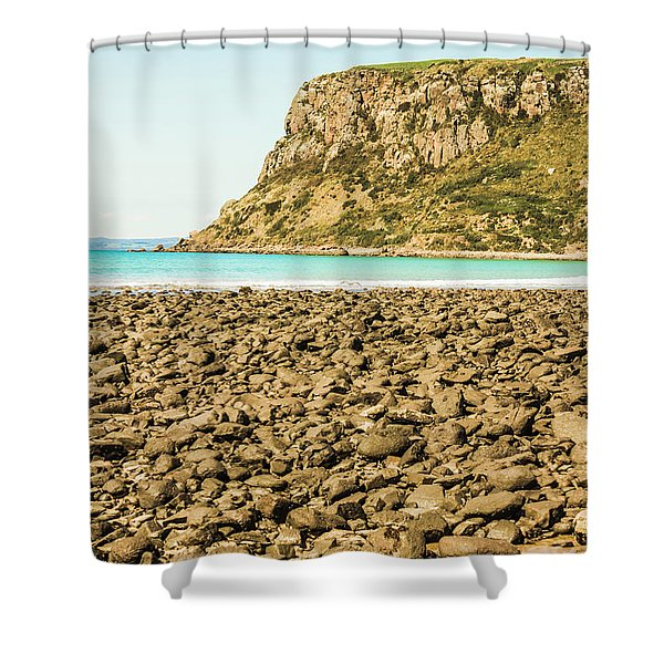 The Stanley Nut Shower Curtain