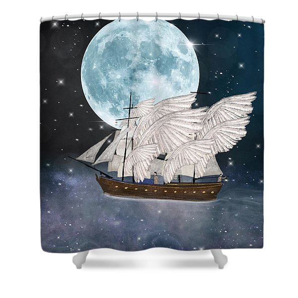 The Star Harvesters Shower Curtain