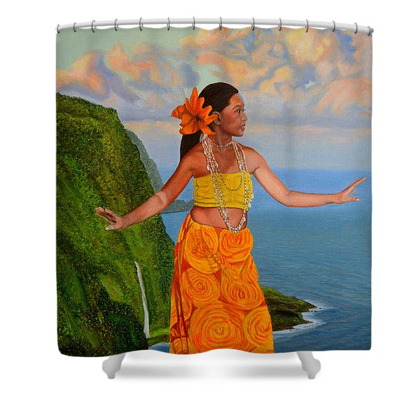The Star Of The Sea Shower Curtain