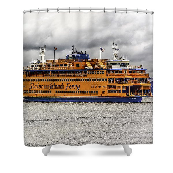 The Staten Island Ferry Shower Curtain