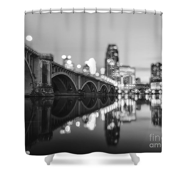 The Central Avenue Bridge Shower Curtain