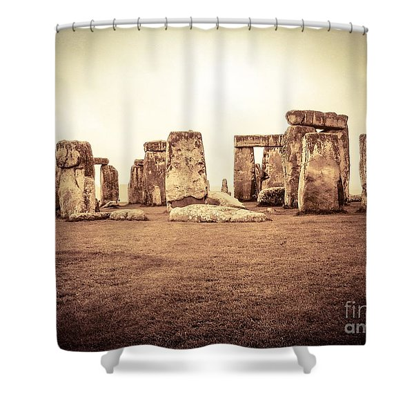 The Stones Shower Curtain
