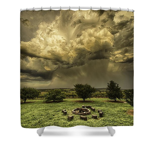 The Storm Shower Curtain
