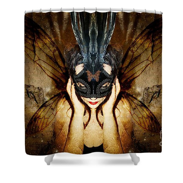 The Story Of What I Came To Be Shower Curtain