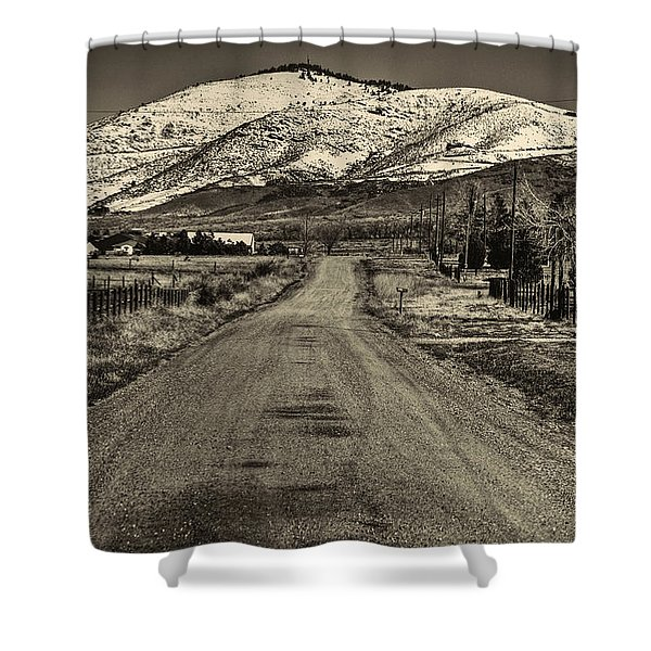 The Street Where Roo Lives Shower Curtain