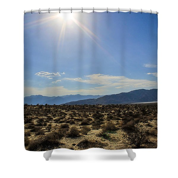 Shower Curtain featuring the photograph The Sun by Break The Silhouette