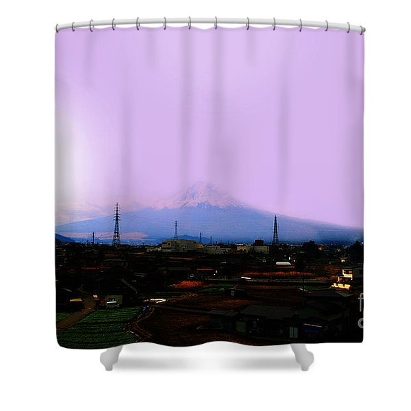 The Sun Still Rises In Japan . All Proceeds Will Go To Japan Earthquake And Tsunami Relief Aid 2011 Shower Curtain