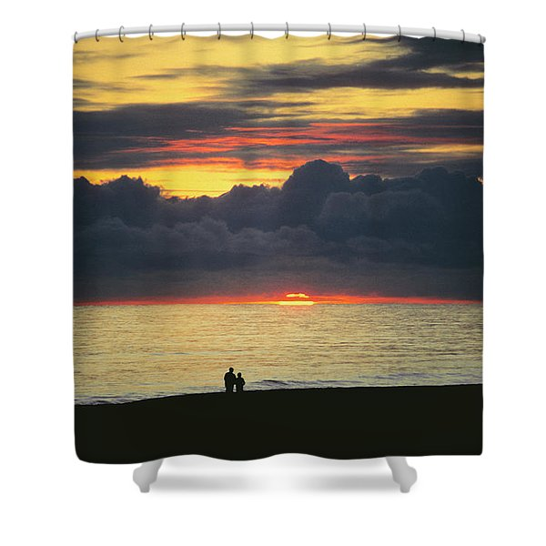 The Sundowners Shower Curtain