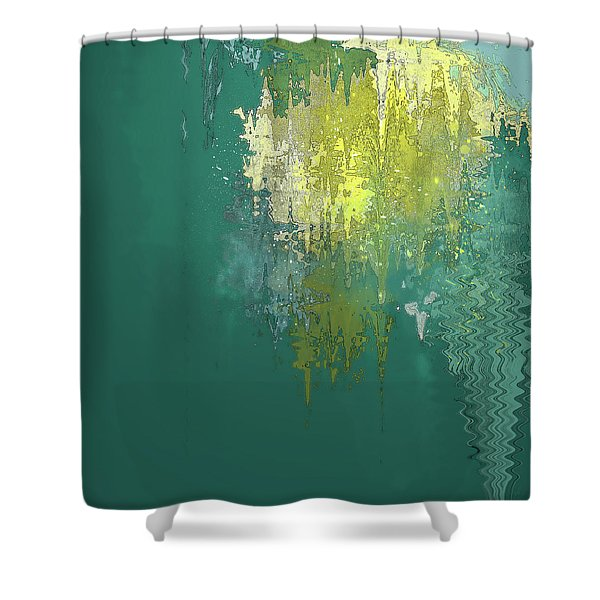 The Sunken Cathedral Shower Curtain