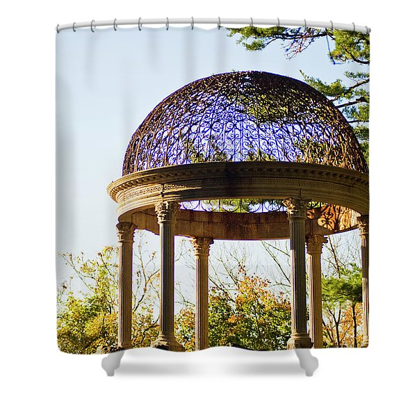The Sunny Dome  Shower Curtain