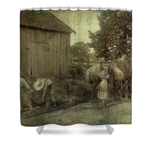 The Supervisor Shower Curtain