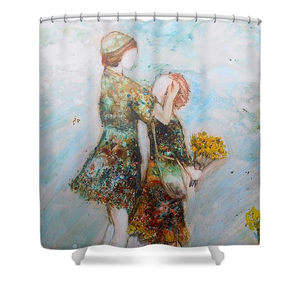 The Surprise Shower Curtain