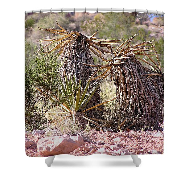 The Survivors At Red Rock Shower Curtain