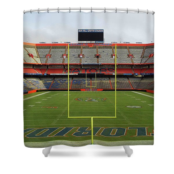 The Swamp Shower Curtain