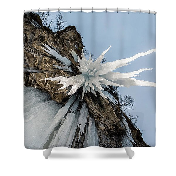 The Sword Of Damocles Shower Curtain