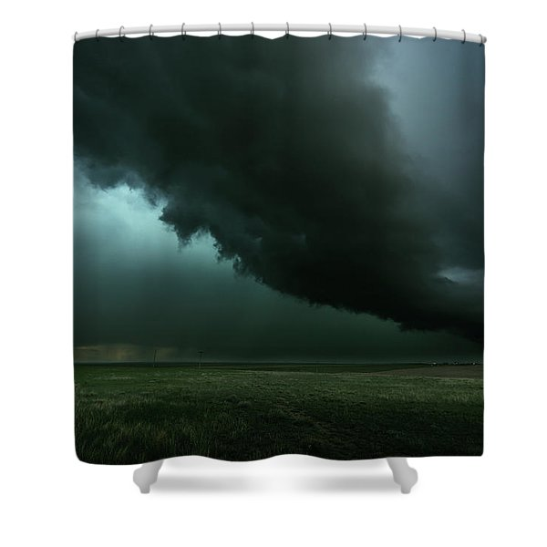 The Tail Of The Storm Shower Curtain