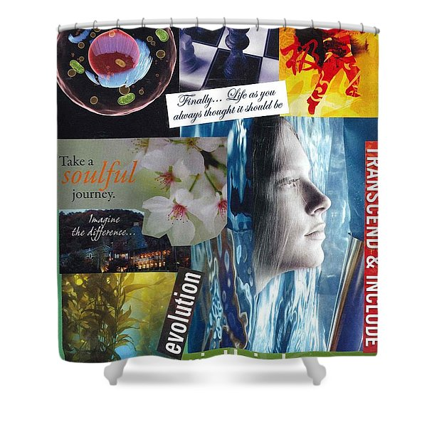The Tao Of Life Shower Curtain