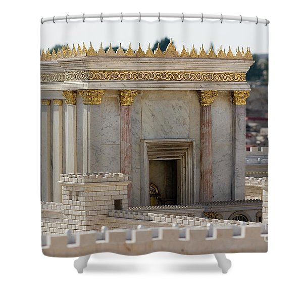 The Temple Of Solomon 2 Shower Curtain