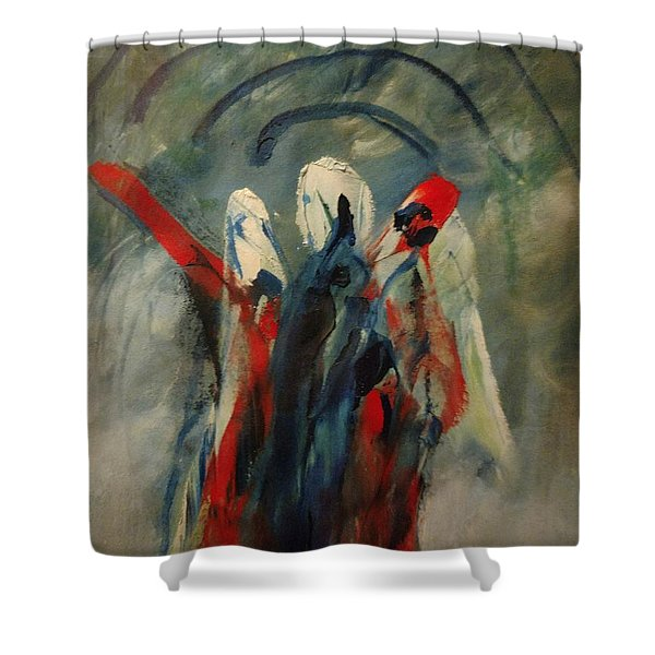 The Three Kings Of Christmas Shower Curtain