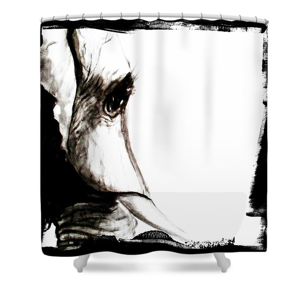 The Three Musketeers - Elephant Shower Curtain