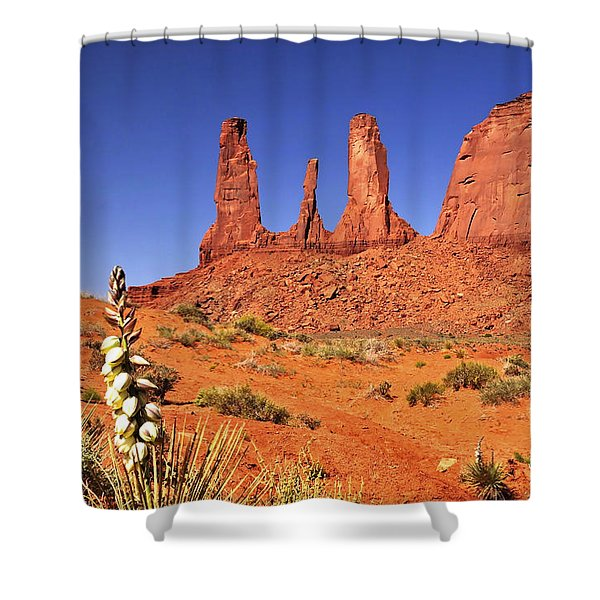The Three Sisters Shower Curtain