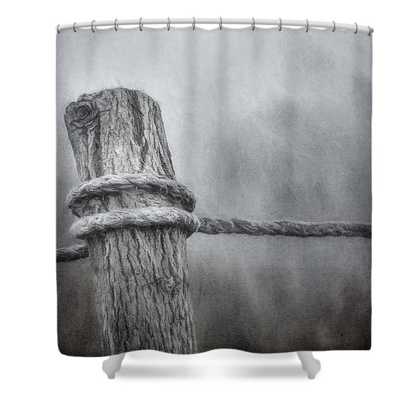 The Tie That Binds Shower Curtain