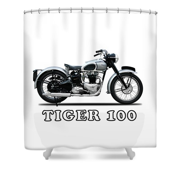 The Tiger 100 1949 Shower Curtain