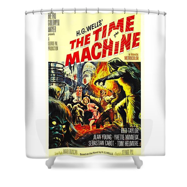 The Time Machine B Shower Curtain