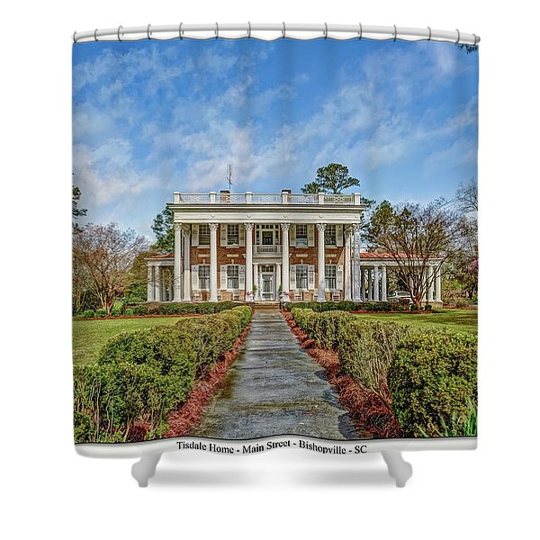 The Tisdale Manor Shower Curtain