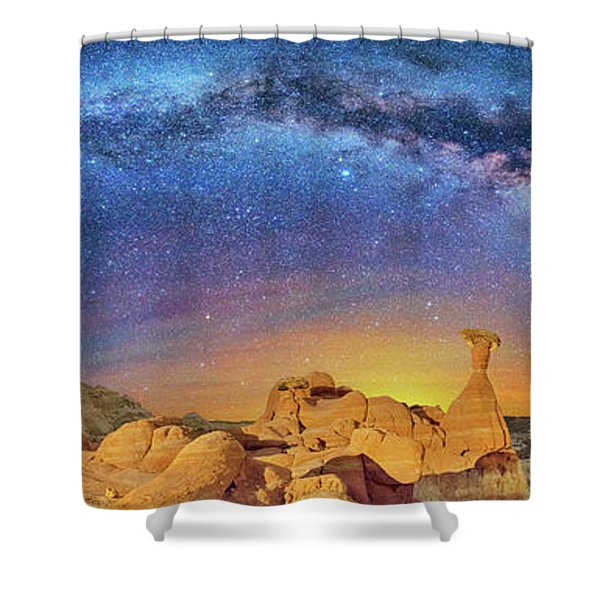 The Toadstool Shower Curtain