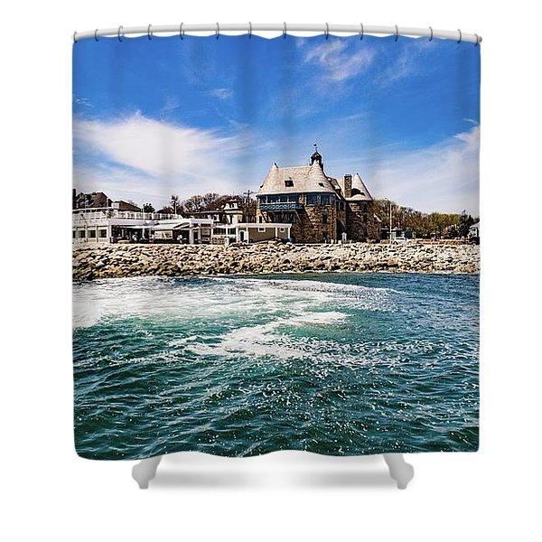 The Towers Of Narragansett  Shower Curtain