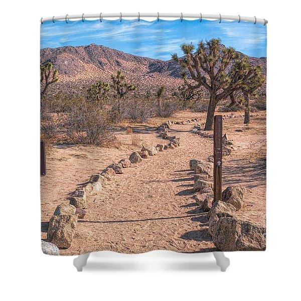 The Trailhead Shower Curtain
