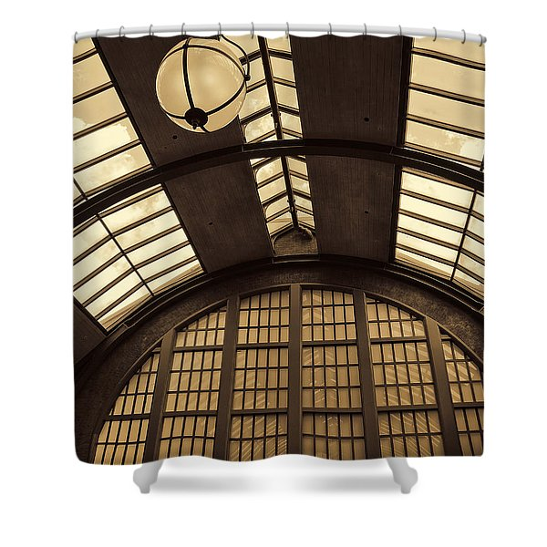 The Train Station Shower Curtain