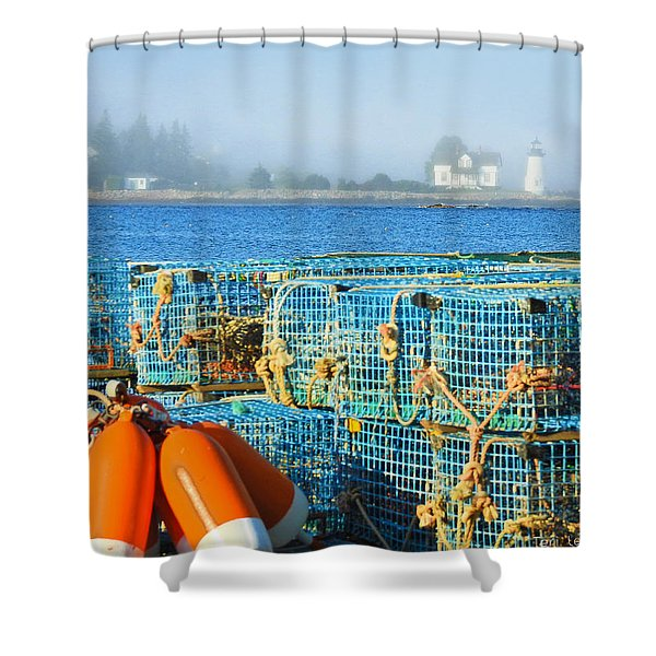 The Traps Shower Curtain