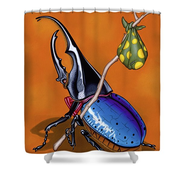 The Traveler Shower Curtain