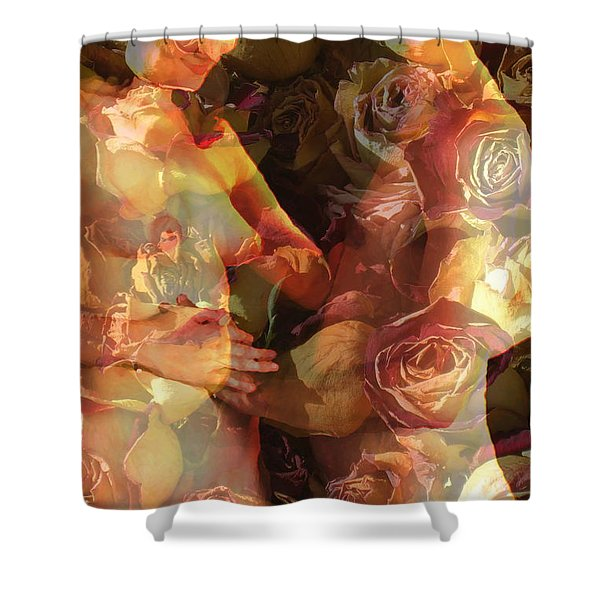 The Treasure Shower Curtain