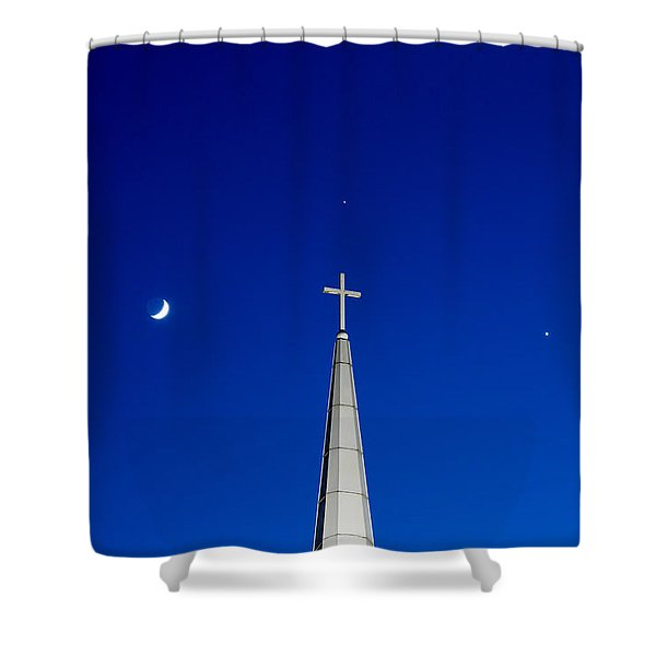 The Trinity Shower Curtain