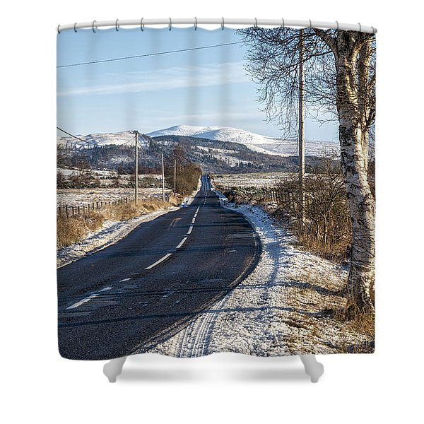 The Trossachs National Park In Scotland Shower Curtain