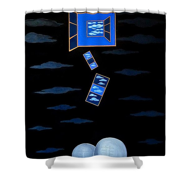 The Truth Is We Don't Know The Truth Shower Curtain