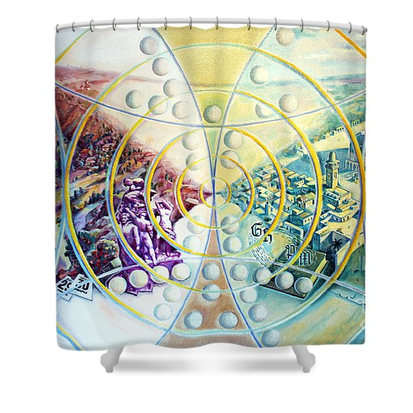The Ultimate Irony Shower Curtain