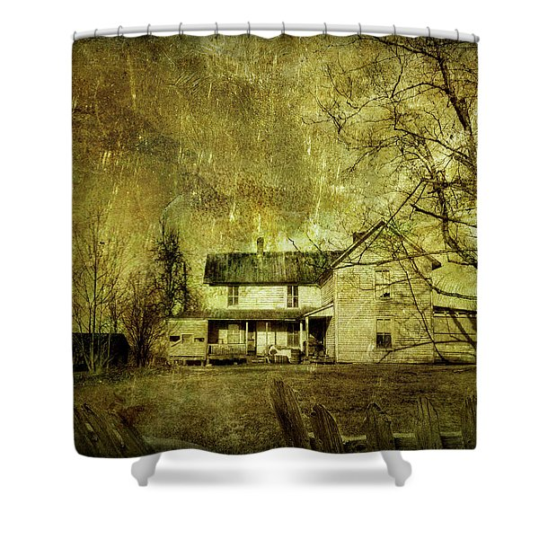 The Uninvited Shower Curtain