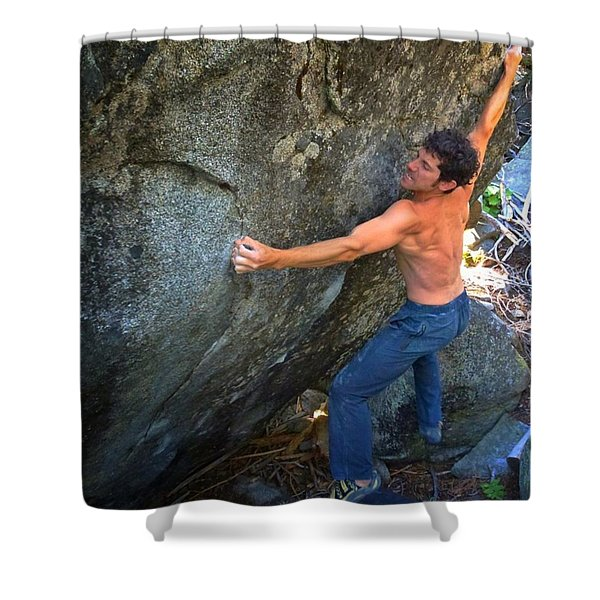 Crossfire Shower Curtain