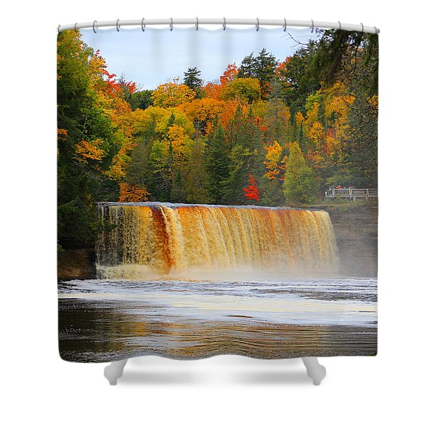 The Upper Tahquamenon Falls Shower Curtain