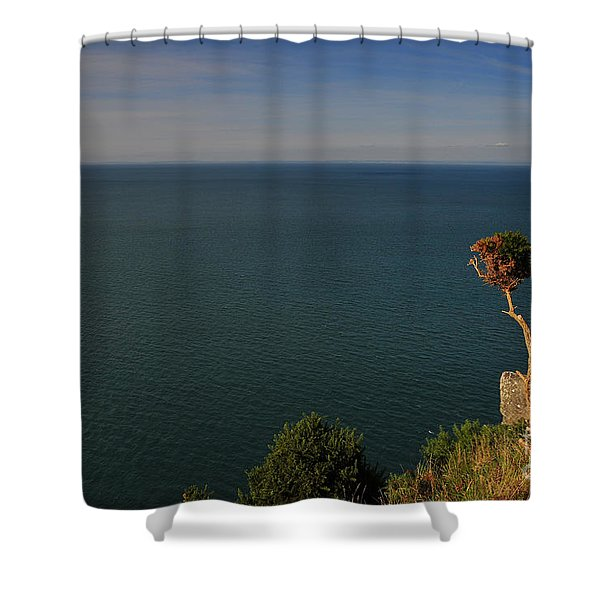 The Valley Of The Rocks Shower Curtain
