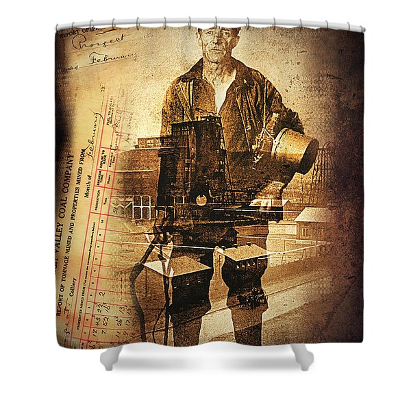 The Valley On My Mind.. Shower Curtain