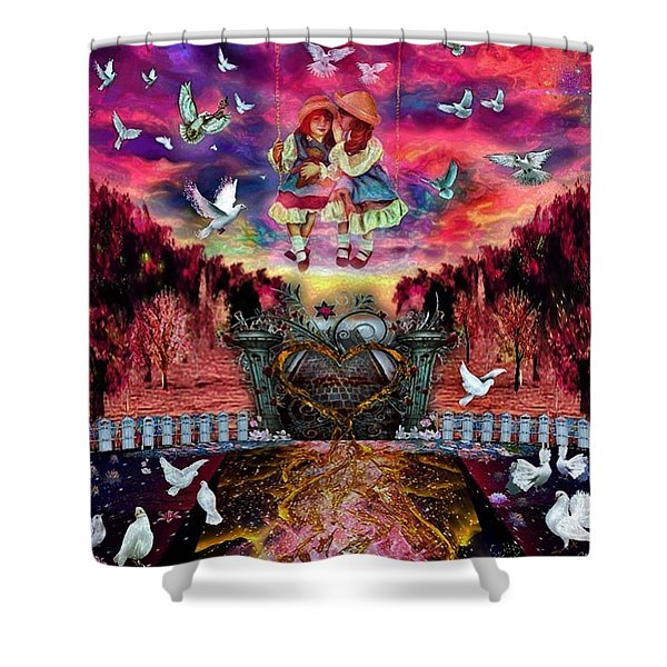 The Value Of Friendship Shower Curtain
