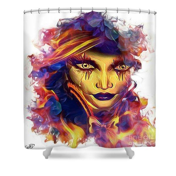 The-vanishing-mind Shower Curtain