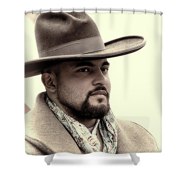 The Vaquero Shower Curtain